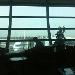 Photo taken at Emirates Lounge by Jon Jon S. on 5/26/2012