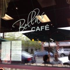 Photo taken at Bella's Cafe by Daniel K. on 5/6/2012