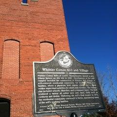 Photo taken at Whittier Mill Village by Ashley C. on 12/9/2011