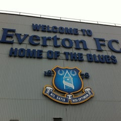 Photo taken at Goodison Park by Din H. on 2/7/2012