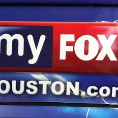 Photo taken at FOX 26 (KRIV-TV) by Gil G. on 5/6/2011