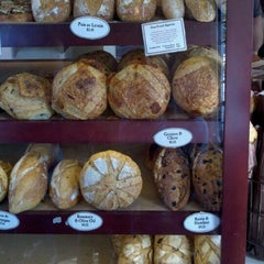Photo taken at Con Pane Rustic Breads & Cafe by Peter K. on 9/24/2011