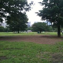 Photo taken at 木場公園 by Ryo I. on 6/12/2011