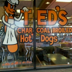 Photo taken at Ted's Hot Dogs by Kyle T. on 2/19/2011