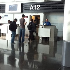 Photo taken at Gate A12 by Susan K. on 9/11/2011