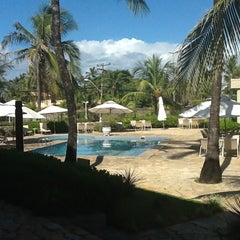 Photo taken at Mar Brasil Hotel Salvador by Giovanni D. on 3/21/2012
