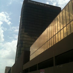 Photo taken at DoubleTree by Hilton Hotel Dallas - Campbell Centre by Nicolle L. on 7/2/2012