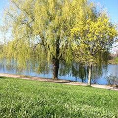 Photo taken at Hoyt Lake by Megan M. on 4/18/2012