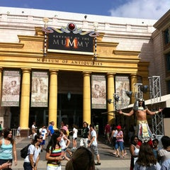 Photo taken at Revenge Of The Mummy by Omar M. on 7/22/2012