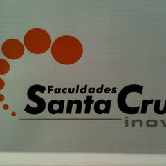 Photo taken at Faculdades Santa Cruz (INOVE) by Thiago B. on 4/2/2012