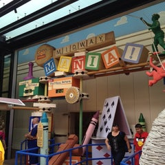 Photo taken at Toy Story Midway Mania by Charity Z. on 5/24/2012