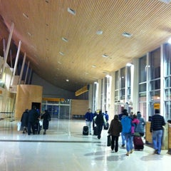 Photo taken at Aeropuerto Internacional El Tepual (PMC) by Evelyn A. on 6/30/2012