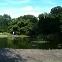 Photo taken at Stadtpark Hannover by Kai R. on 7/15/2012