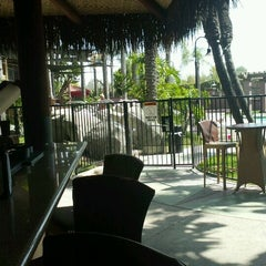 Photo taken at Poolside Bar at Hotel Menage by Brian S. on 6/11/2012