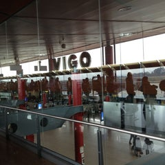 Photo taken at Aeropuerto de Vigo (VGO) by Victor M. on 4/2/2012