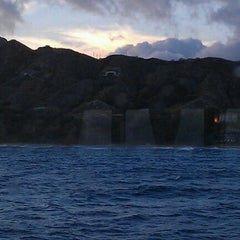 Photo taken at Amelia Earhart marker at Diamond Head Lookout by Gioia H. on 9/4/2012