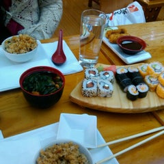 Photo taken at Sushihana by falkom A. on 9/6/2012