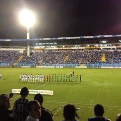 Photo taken at Estádio Aderbal Ramos da Silva (Ressacada) by Fernando da Luz S. on 4/22/2012