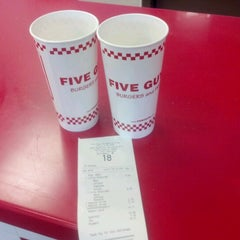 Photo taken at Five Guys by Kyle S. on 7/17/2012