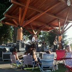 Photo taken at Pioneer Park by Bobbie C. on 8/3/2012