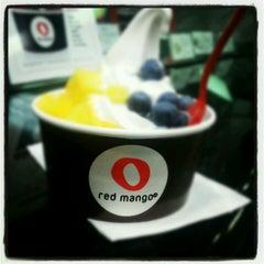 Photo taken at Red Mango by Cassie B. on 6/30/2012