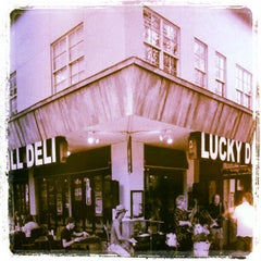 Photo taken at Lucky Dill Deli by Stephen W. on 4/29/2012