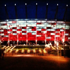 Photo taken at PGE Narodowy by Jaroslaw M. on 7/3/2012