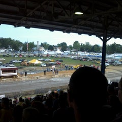 Photo taken at Stark County Fairgrounds by Stephen S. on 9/2/2012