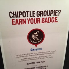 Photo taken at Chipotle Mexican Grill by Steve Y. on 3/19/2012