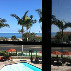 Photo taken at Hyatt Santa Barbara by Thaisa T. on 7/17/2012