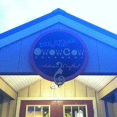 Photo taken at Owowcow Creamery by Jared M. on 6/23/2012