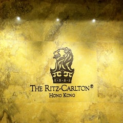 Photo taken at The Ritz-Carlton, Hong Kong by Satine H. on 2/25/2012