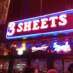 Photo taken at 3 Sheets Saloon by Brittany M. on 4/29/2012