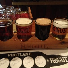 Photo taken at Rogue Ales Public House & Distillery by Yanka S. on 9/4/2012