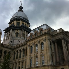 Photo taken at Illinois State Capitol by arcbam on 9/27/2011