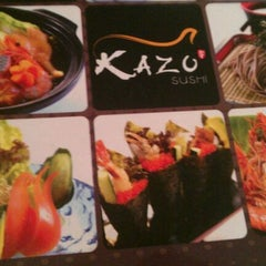 Photo taken at Kazu Sushi by MIko c. on 8/27/2011