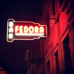 Photo taken at Fedora by hudsonandbarrow on 1/3/2012
