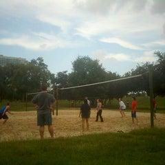 Photo taken at Spotts Park by Hal M. on 7/3/2012