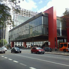 Photo taken at Museu de Arte de São Paulo (MASP) by Cleber V. on 11/2/2011