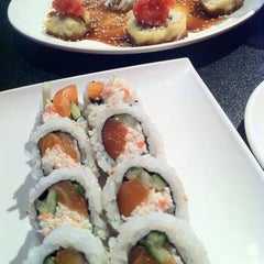Photo taken at SakeBomber Sushi & Grill by Kevin G. on 4/13/2011