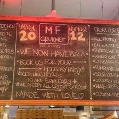 Photo taken at MF Gourmet by Gerardo R. on 1/3/2012