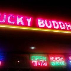 Photo taken at Lucky Buddha Chinese Thai And Sushi by Misha PinksugarAtlanta S. on 5/21/2012