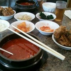 Photo taken at Kim Baek Korean Restaurant by Kris R. on 11/2/2011