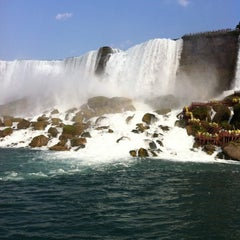 Photo taken at Maid Of The Mist - Canada entry by Prasoon M. on 9/5/2011