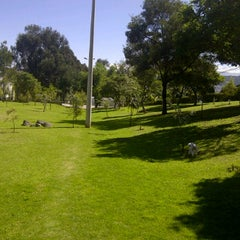 Photo taken at Parque Quito Tenis by Mario G. on 12/23/2011