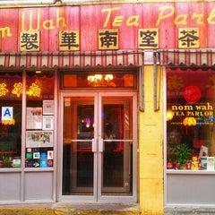 Photo taken at Nom Wah Tea Parlor by Brigitte P. on 10/28/2011