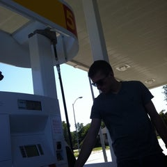 Photo taken at Shell by Ashley B. on 9/5/2011