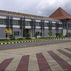 Photo taken at Adi Soemarmo International Airport (SOC) by Dewieq N. on 7/10/2012