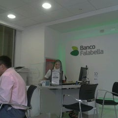 Photo taken at Banco Falabella Ahumada 302 by Denisse G. on 2/28/2012