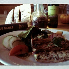Photo taken at Le Pain Quotidien by Jacqui A. on 10/21/2011